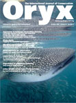 Oryx magazine Cover by Andy Murch